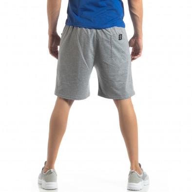 Мъжки спортни шорти в сиво it210319-74 4