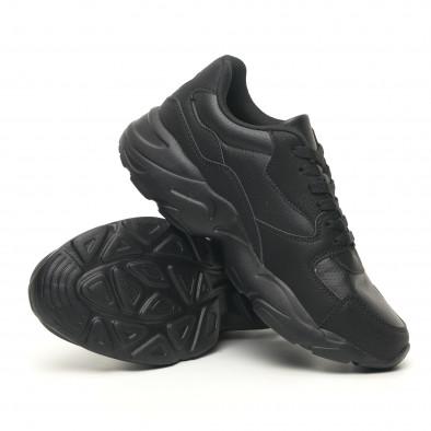 Леки мъжки маратонки All black it251019-13 4