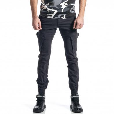 Сив панталон Cargo Jogger с ципове на крачолите it010221-44 2