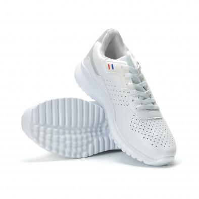 Ултралеки мъжки маратонки в бяло  it250119-16 4