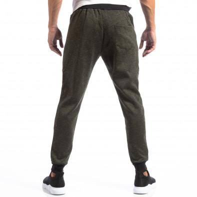 Мъжки Jogger в зелен меланж it250918-36 4