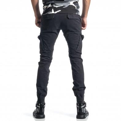 Сив панталон Cargo Jogger с ципове на крачолите it010221-44 3