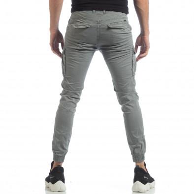 Мъжки Jogger карго панталон в сиво it040219-36 4