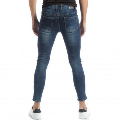 Мъжки дънки Skinny в синьо it051218-1 3