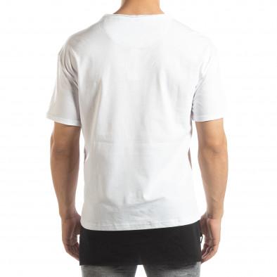 Мъжка бяла тениска Darth Vader it150419-112 3
