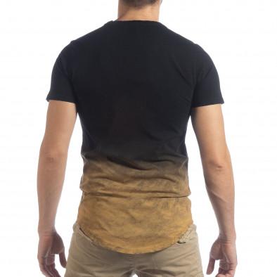 Черна мъжка тениска Dynasty it040219-120 4