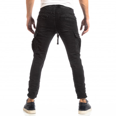Мъжки Cargo Jeans в черно it261018-17 4
