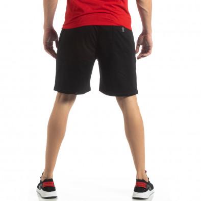Мъжки спортни шорти в черно it210319-72 4