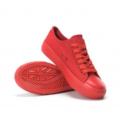 Червени дамски гуменки it250119-74 4