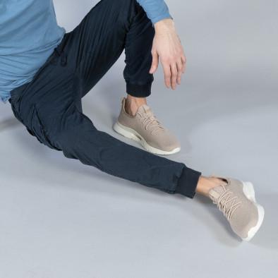 Мъжки Cargo Jogger панталон в тъмно синьо it040219-30 3