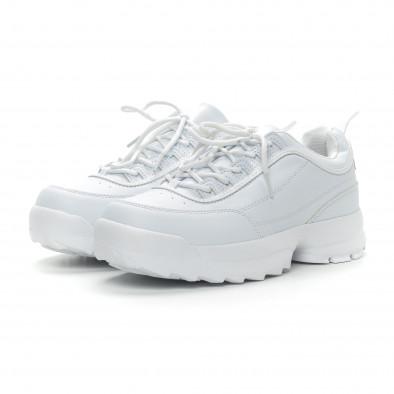 Бели мъжки Chunky маратонки. Размер 43/44 it150319-7-1 2