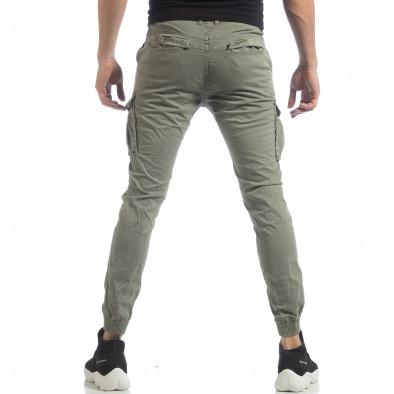 Мъжки Jogger карго панталон в зелено it040219-37 4