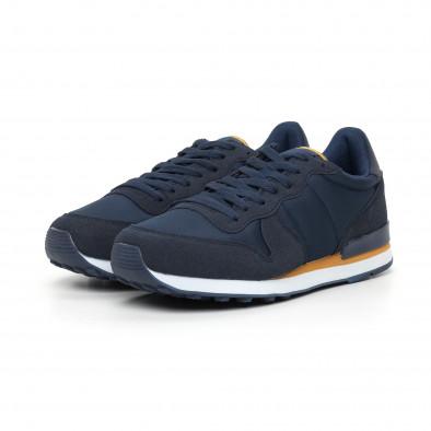 Леки мъжки сини маратонки it130819-14 3