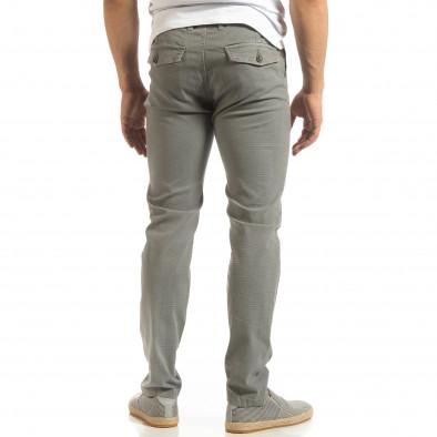 Мъжки CHINO панталон в сиво it090519-7 3
