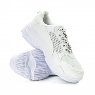 All white мъжки комбинирани маратонки it221018-39 4