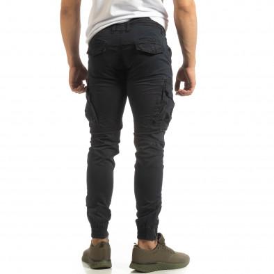 Мъжки син карго джогър с ципове на крачолите it090519-12 4