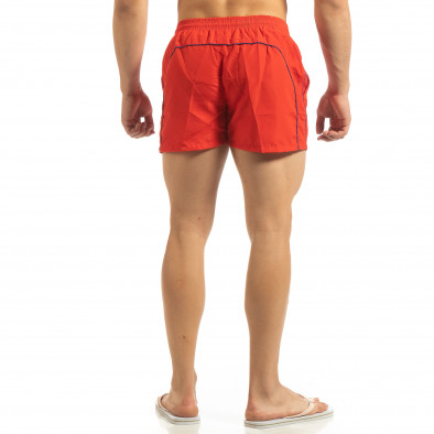 Мъжки червен бански син кант it090519-82 3