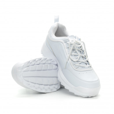 Бели мъжки Chunky маратонки. Размер 43/44 it150319-7-1 4