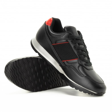 Черни мъжки маратонки класически модел it221018-31 4