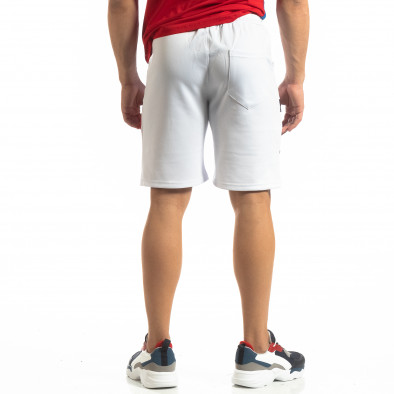Мъжки бели шорти GOOD it150419-23 3