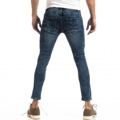 Slim fit мъжки дънки в синьо it261018-15 4
