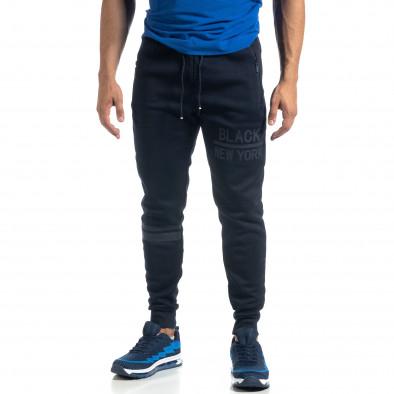 Мъжко синьо долнище Black New York it041019-11 2