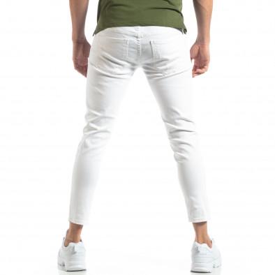 Бели мъжки дънки с прокъсвания it210319-6 3