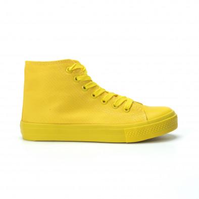 Дамски кецове в жълто it250119-79 2