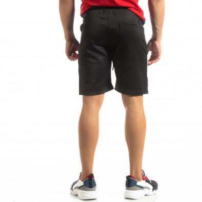 Мъжки черни шорти GOOD it150419-21 3