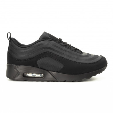 Футуристични Air мъжки маратонки в черно it221018-29 2