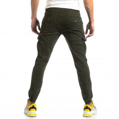 Зелен карго панталони с ластик на глезена it261018-22 4