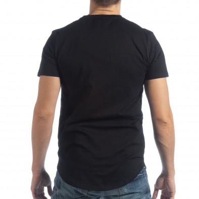 Мъжка черна тениска Money Way it040219-117 4