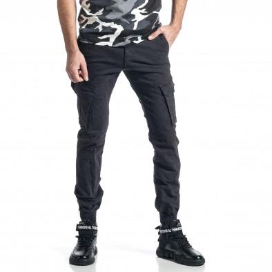 Сив панталон Cargo Jogger с ципове на крачолите it010221-44 4