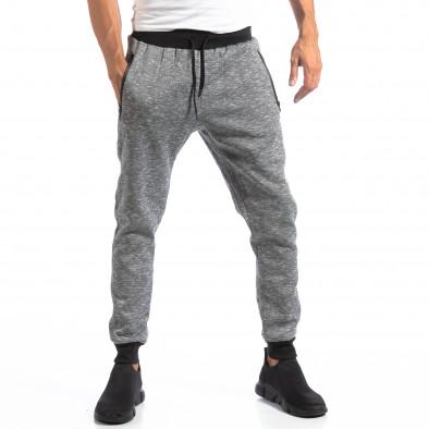 Мъжки Jogger в сив меланж it250918-35 3