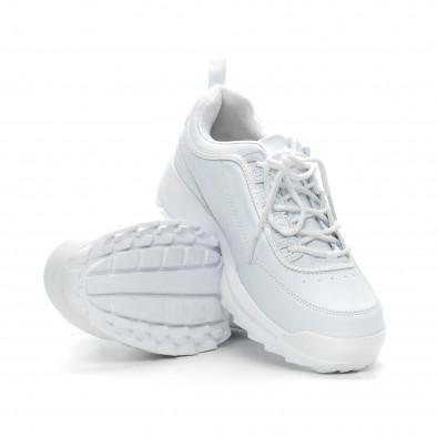 Бели мъжки Chunky маратонки it150319-7 4