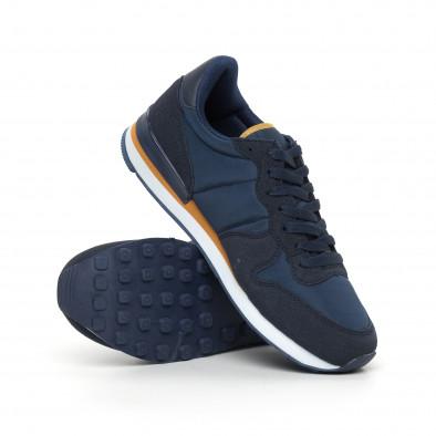 Леки мъжки сини маратонки it130819-14 4