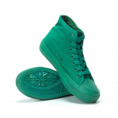 Дамски кецове в зелено it250119-77 4