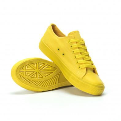 Жълти дамски гуменки it250119-73 4