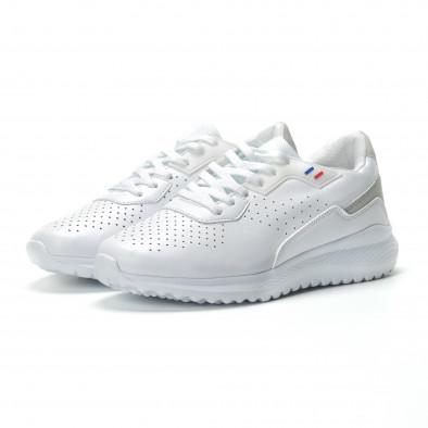 Ултралеки мъжки маратонки в бяло  it250119-16 3