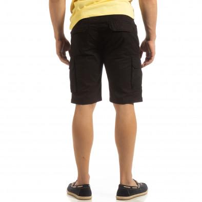 Черни мъжки карго бермуди it090519-23 3