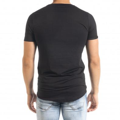 Мъжка черна тениска Romantic Skull iv080520-47 4