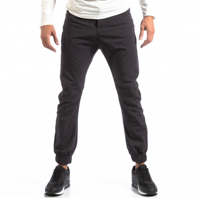 Мъжки сив лек панталон Jogger House lp290918-163 2