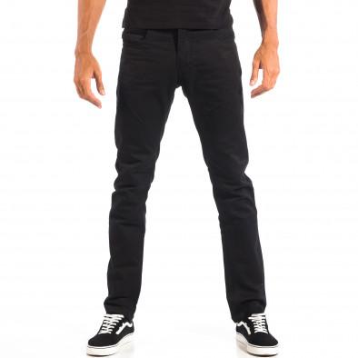 Mъжки черен панталон House lp060818-144 2
