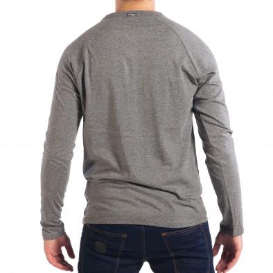 Мъжка сива блуза RESERVED с копчета lp070818-43 3