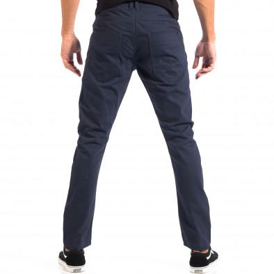 Мъжки тънък панталон CROPP в синьо lp060818-108 3