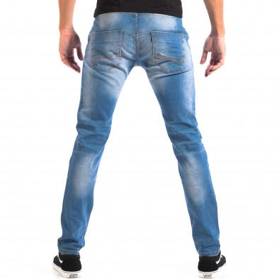 Мъжки сини Slim fit дънки House с аксесоар lp060818-66 3