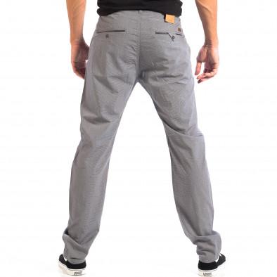 Летен мъжки панталон House в сиво lp060818-106 3