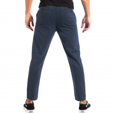 Летен мъжки панталон House синьо райе lp060818-107 3