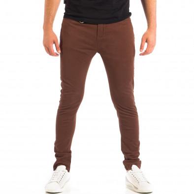Mъжки кафяв панталон House Slim fit lp060818-96 2
