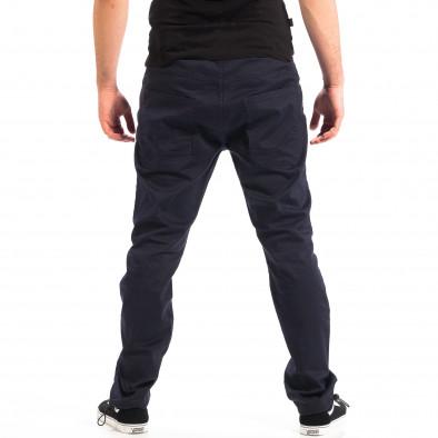 Мъжки син панталон CROPP с ластик на крачолите lp060818-125 3